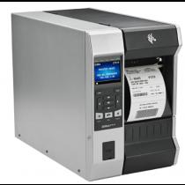 ZT61042T0E01C0Z TT Printer ZT610; 4'', 203 dpi, Euro and UK cord, Serial, USB, Gigabit Ethernet, Bluetooth 4.0, USB Host, Tear, RFID UHF Encoder:Global (ROW), Color, ZPL
